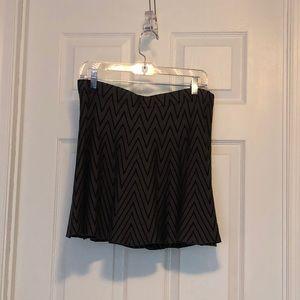 Cute grey and black skater skirt